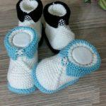 Şık ve Kolay Bebek Patik Yapılışı Resimli Anlatımlı