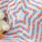 Yıldız Şeklinde Bebek Battaniyesi Yapılışı videolu anlatımlı
