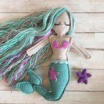 Deniz Kızı Amigurumi Oyuncak Yapılışı Anlatımı