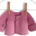 Bütün Örülen Bebek Ceketi Nasıl Örülür Anlatımlı