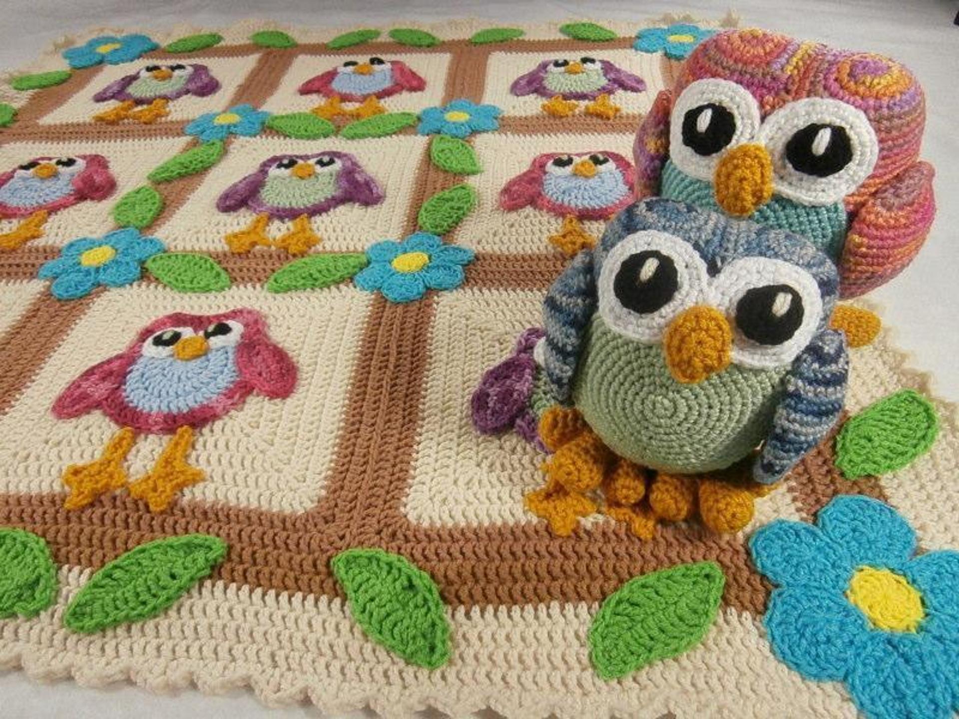 Baykuşlu Battaniye Modelleri