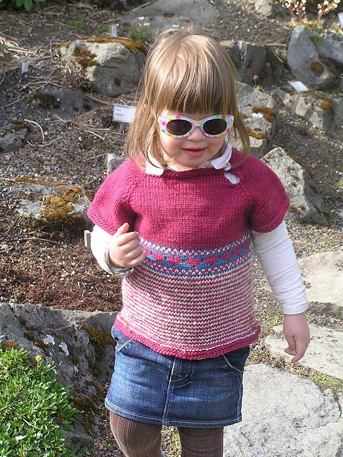 Kolay Örgü Süveter Yapılışı – Easy Baby Sweater pattern