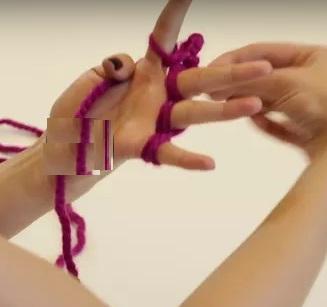 Parmak Örgüsü Nasıl Yapılır Anlatımı