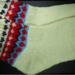 Şiş örgü Çorap Nasıl Yapılır videolu