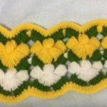 Fıstıklı Yarım Çam Battaniye ve Lif Örneği Yapılışı
