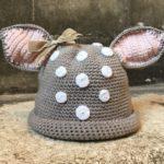Tığ ile Sık İğne Kulaklı Bebek Şapkası Yapımı Anlatımlı Resimli