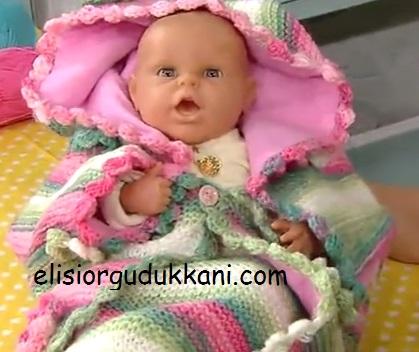 Çok Amaçlı Bebek Battaniyesi Yapımı Anlatımı