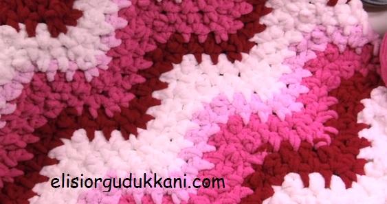 Tığ işi Güzel Battaniye Modeli Yapılışı