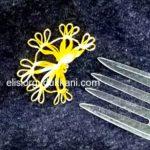 1 Yeni Çatal Çiçeği İğne Oyası Modeli Yapımı