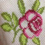 Yeni Çiçekli Kanaviçe Etamin Şablonları