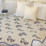50 Adet Kaneviçe İşlemeli Yatak Örtüsü Modelleri