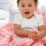 Yeni Başlayanlar için Çok Kolay Bebek Battaniyesi Yapılışı