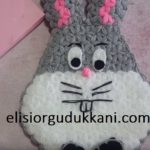 Tavşan Model Kese Lif Bugs Bunny Lif modeli Yapılışı