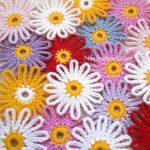 Çok Kolay Çok Güzel Çiçek Motifi