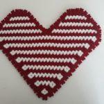 Kalp Şeklinde Çizgili Lif Modeli Yapılışı