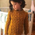 5-6 Yaş Örgü Çocuk Kazak