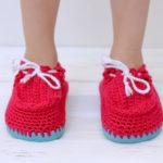 Örgü Çocuk Bebek Ayakkabısı Yapılışı