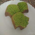 Ispanaklı Yeşil Kek Yapılışı
