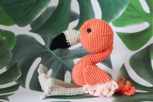 Amigurumi Flamingo Yapımı Gaga - Aktif Moda | 200x300