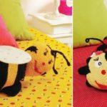 Tığ İşi Bebek Odası Amigurumi Büyük Yastıklar Yapımı