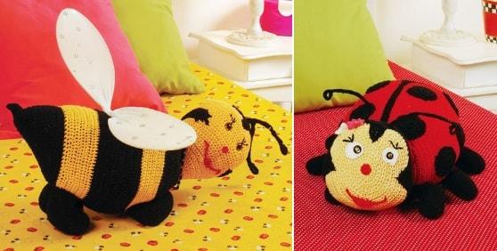 Amigurumi Mini Panda Yastık Yapımı - Örgü Modelleri | 282x558