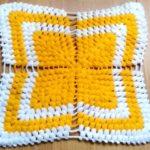 4 Yapraklı Kolay Sarı Lif Modeli Yapımı Anlatımlı