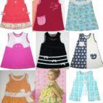 Çocuk Elbisesi Pratik Kol Kesimi Dikiş