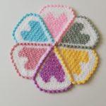 6 Renkli Kalpli Lif Modeli Artan İpler İle