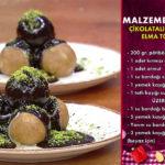 Çikolatalı Elma ve Armut Topları Misafirlik Tatlı Tarifi