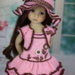 Örgü Oyuncak Bebek Elbisesi Modelleri